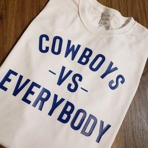 Cowboys Vs. Everybody T-shirt
